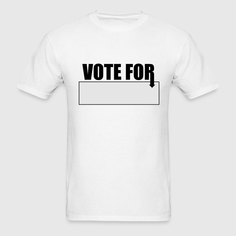 vote for blank - Men's T-Shirt