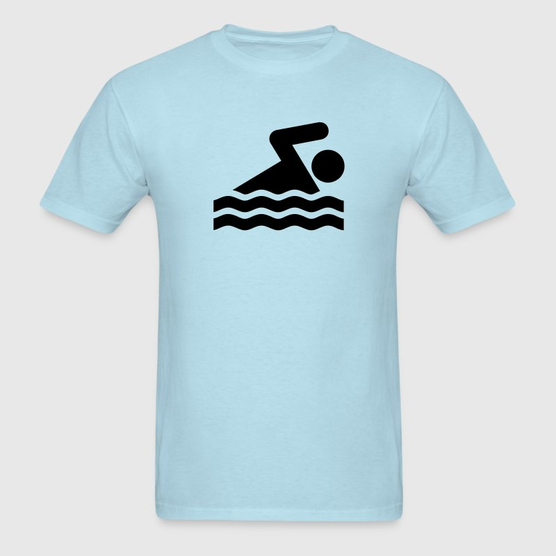Swimming - VECTOR T-Shirts - Men's T-Shirt