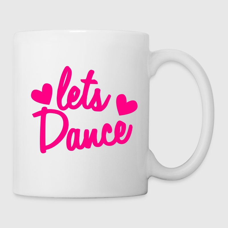 lets dance with cute little love hearts Gift - Coffee/Tea Mug