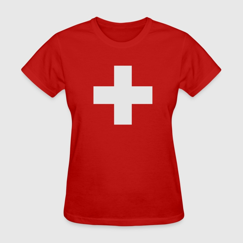 Swiss Cross Women's T-Shirts - Women's T-Shirt