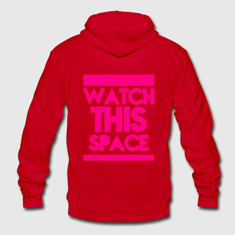 WATCH THIS SPACE!  Zip Hoodies/Jackets - Unisex Fleece Zip Hoodie by American Apparel