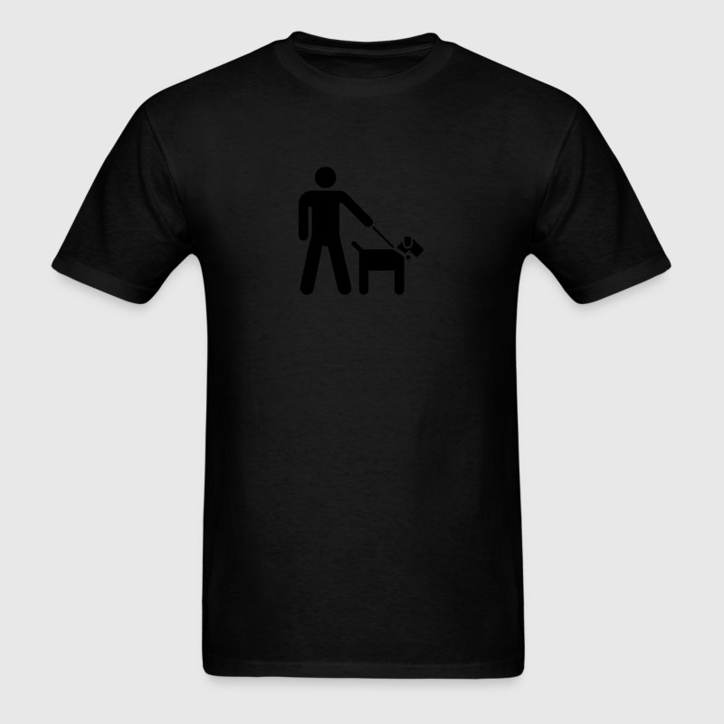 Walking the Dog - VECTOR T-Shirts - Men's T-Shirt