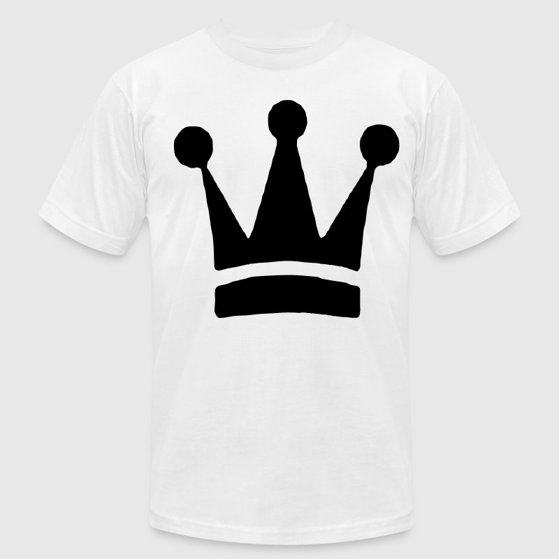 Royal Crown T-Shirts - Men's T-Shirt by American Apparel