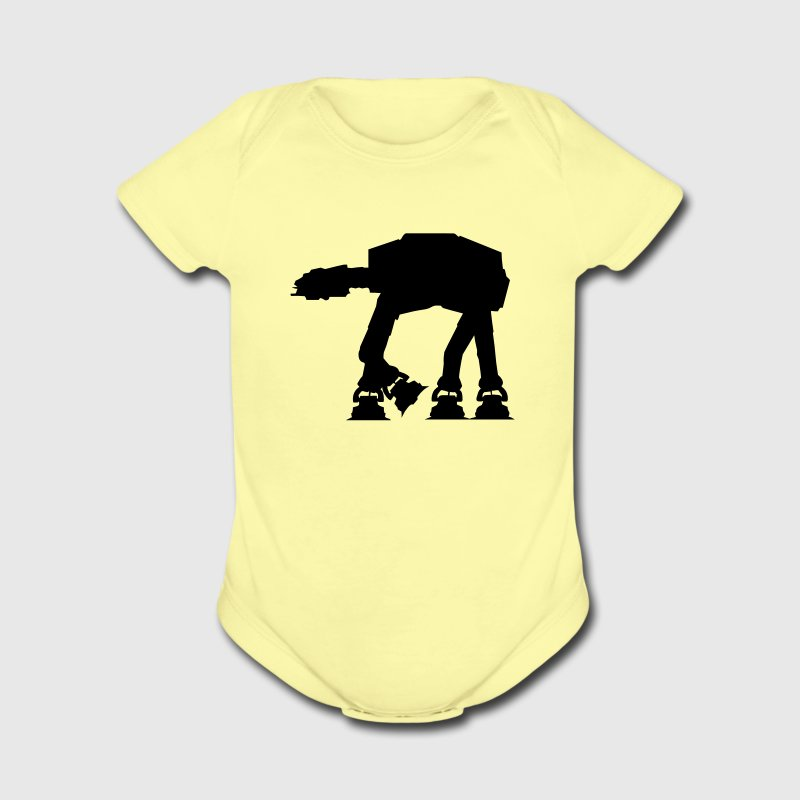 AT-AT Walker - VECTOR Baby Bodysuits - Short Sleeve Baby Bodysuit