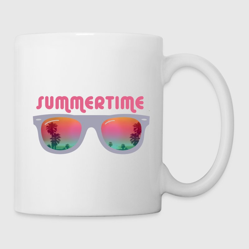 Summertime sunglasses Gift - Coffee/Tea Mug