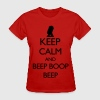 Keep Calm and Beep Boop Beep VECTOR Women's T-Shirts - Women's T-Shirt