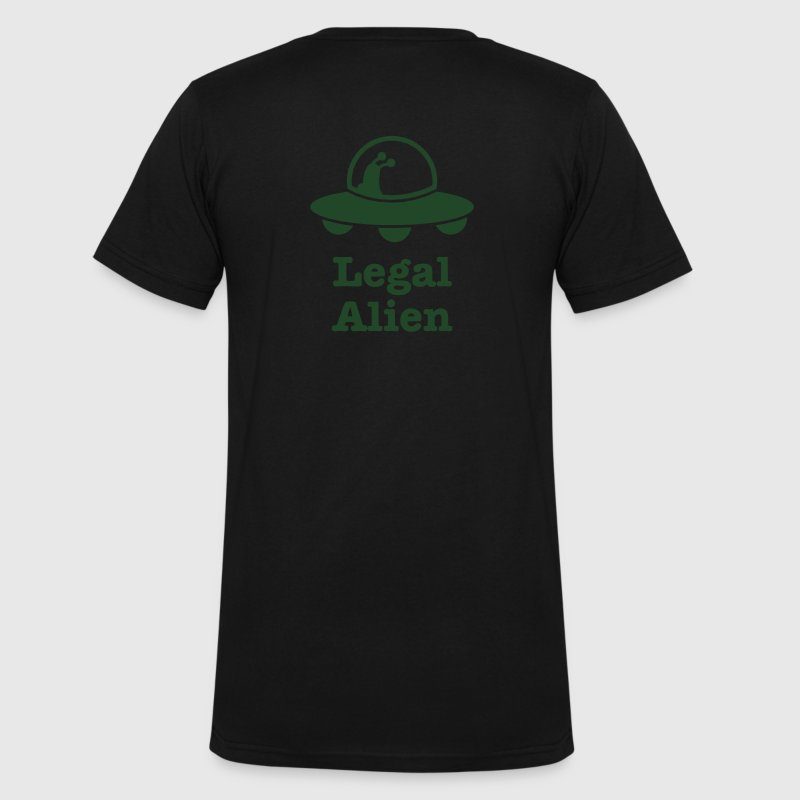 legal alien for professional legals lawyers T-Shirts - Men's V-Neck T-Shirt by Canvas