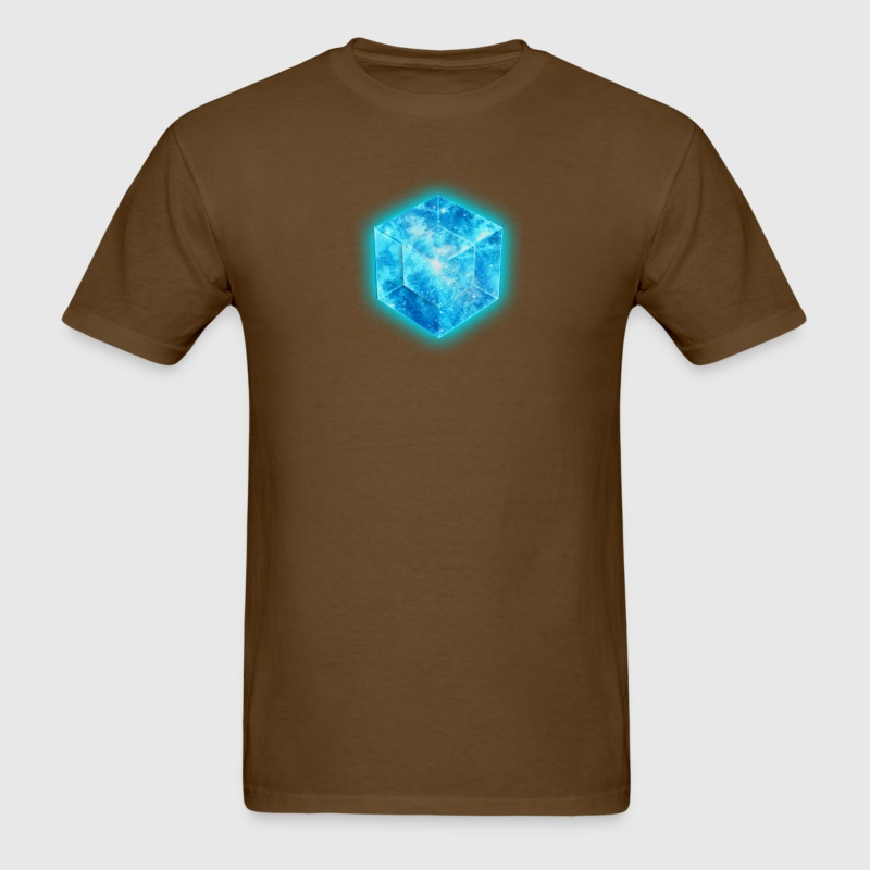 Hypercube 4D - TESSERACT , digital, Symbol - Dimensional Shift, Metatrons Cube,  T-Shirts - Men's T-Shirt