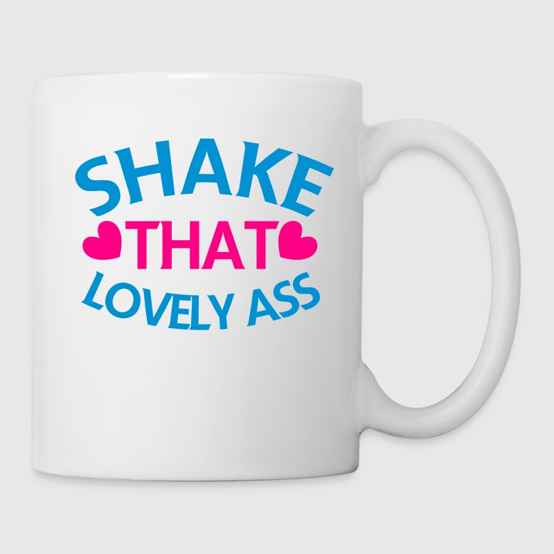 shake that lovely ass! with love hearts Gift - Coffee/Tea Mug