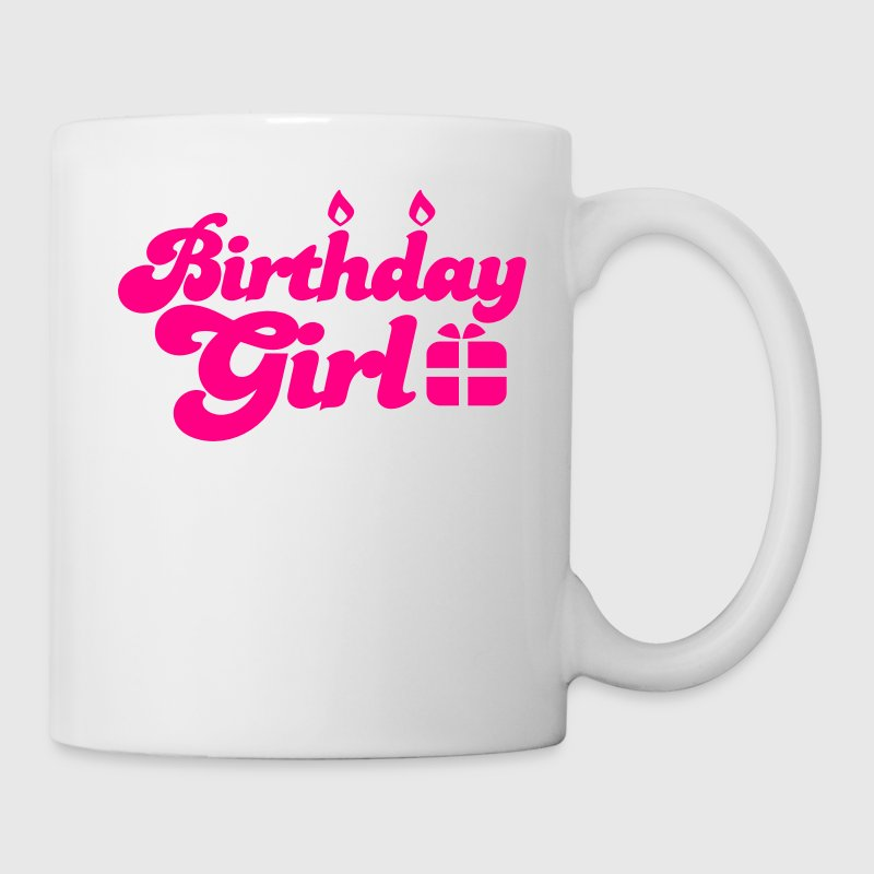 birthday girl new with present Gift - Coffee/Tea Mug