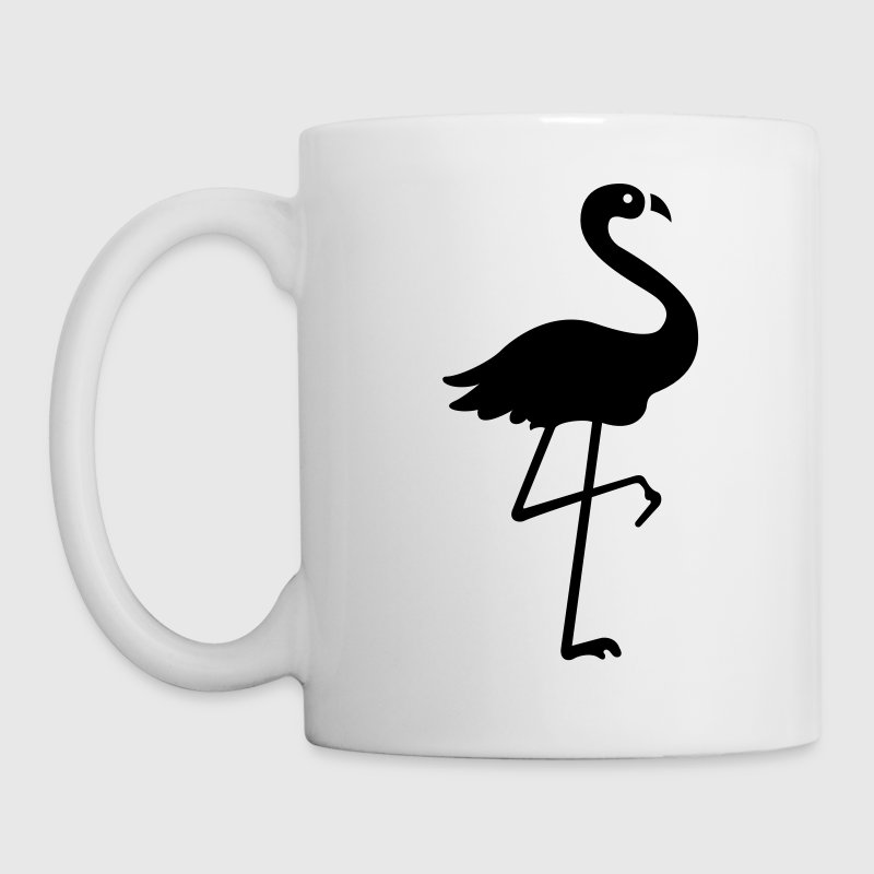 Flamingo VECTOR Gift - Coffee/Tea Mug