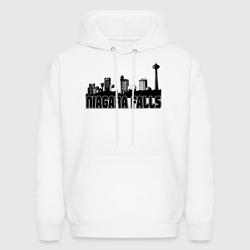 Niagara Falls Skyline Hooded Sweatshirt - Men's Hoodie