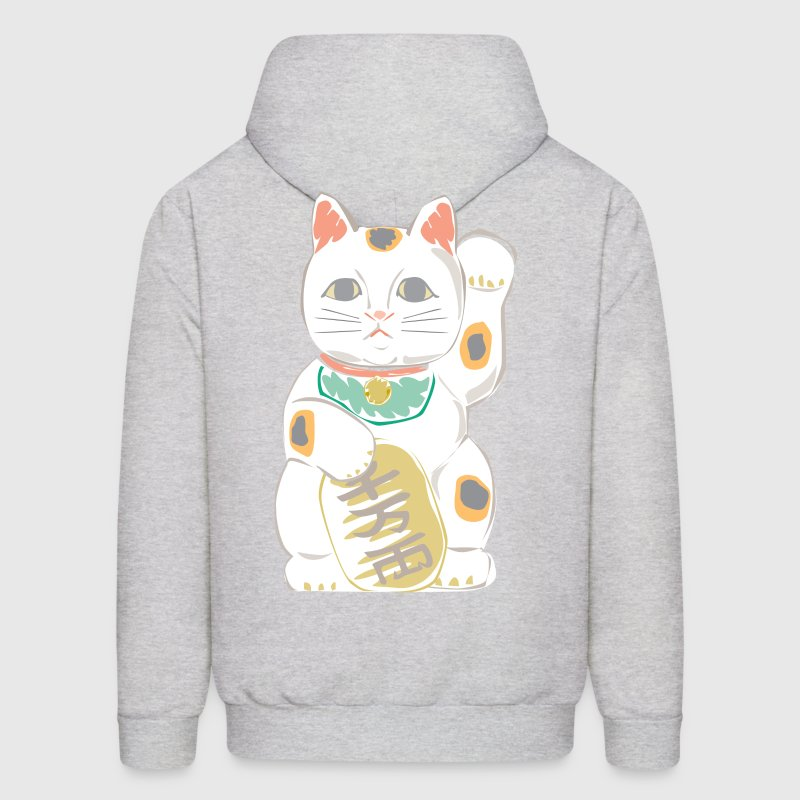 Japanese Lucky Cat Hoodies - Men's Hoodie