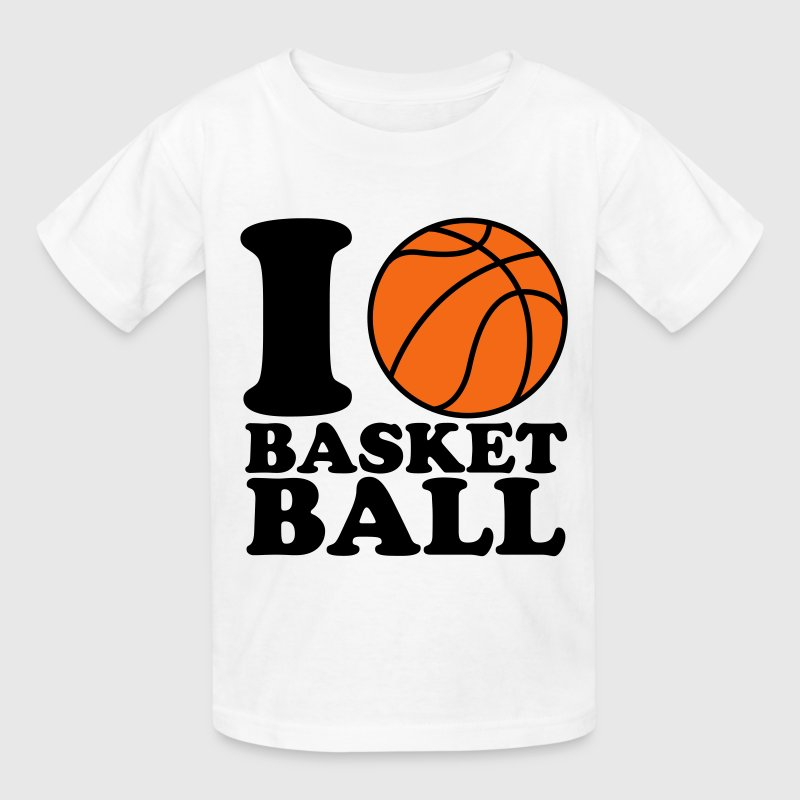 I love basketball t shirt spreadshirt for Design your own basketball t shirt