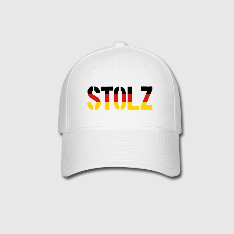 Stolz Germany Flag, Proud to be German - Baseball Cap
