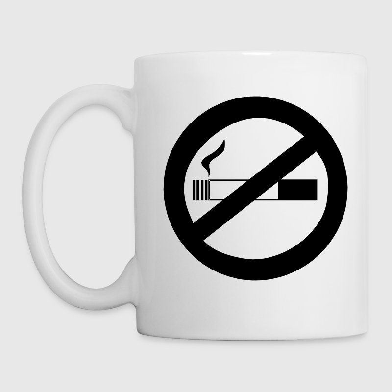 No Smoking VECTOR Gift - Coffee/Tea Mug