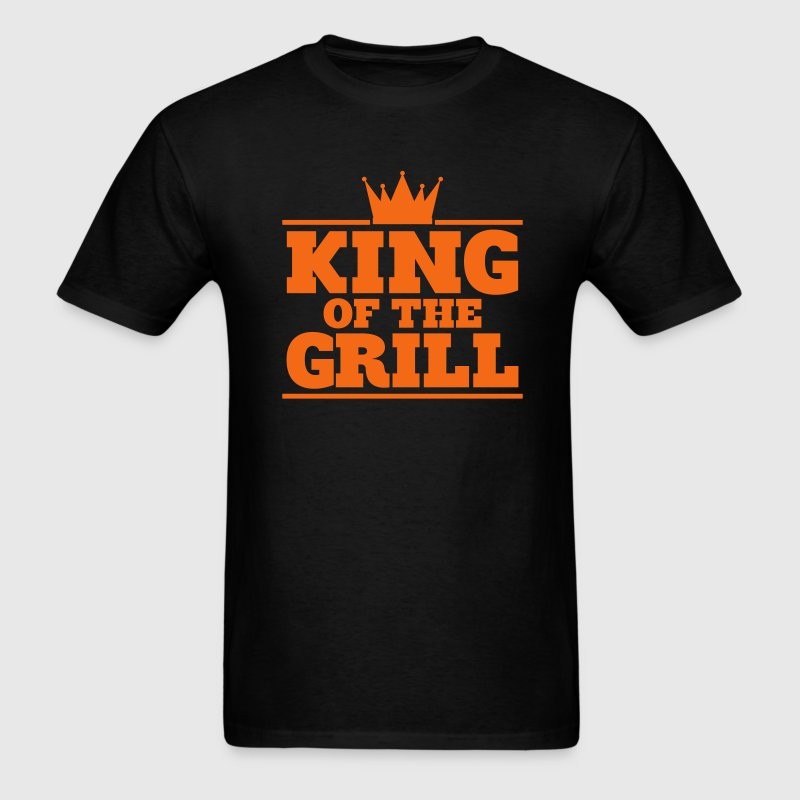 King of the Grill - gold foil edition - Men's T-Shirt