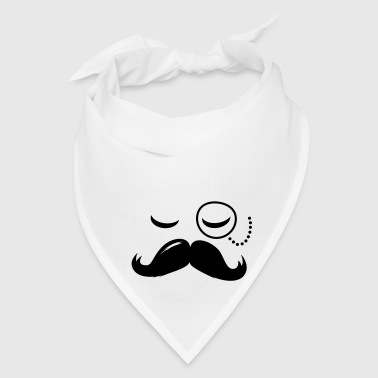 La Moustache Solo Fashionable Sir vintage funny style and popular cool boss Gift - Bandana