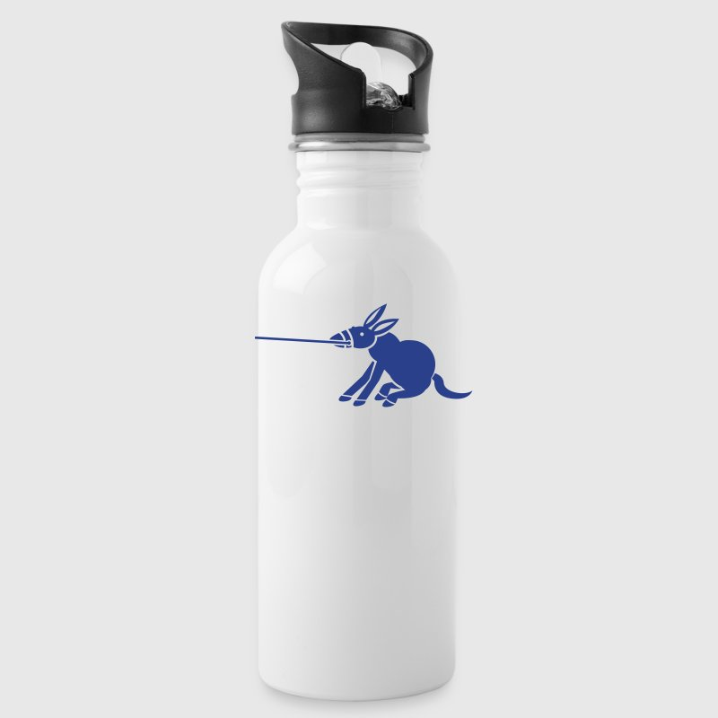 Donkey DRAGGING MY ASS good lazy person design Accessories - Water Bottle