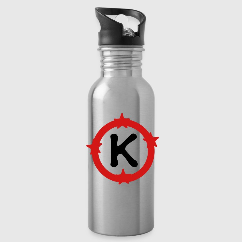 Letter K Water Bottle - Water Bottle