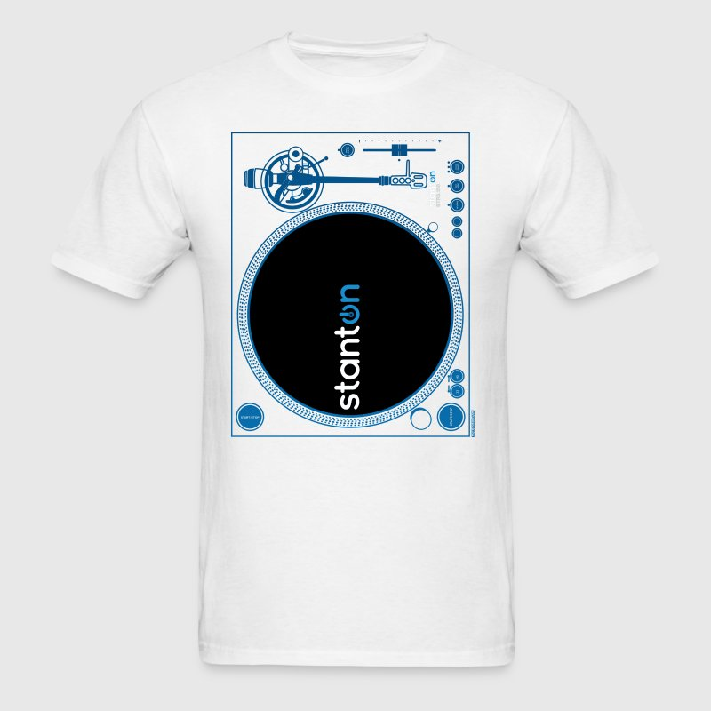 Stanton STR8-150 DJ Turntable DJ T-Shirts - Men's T-Shirt