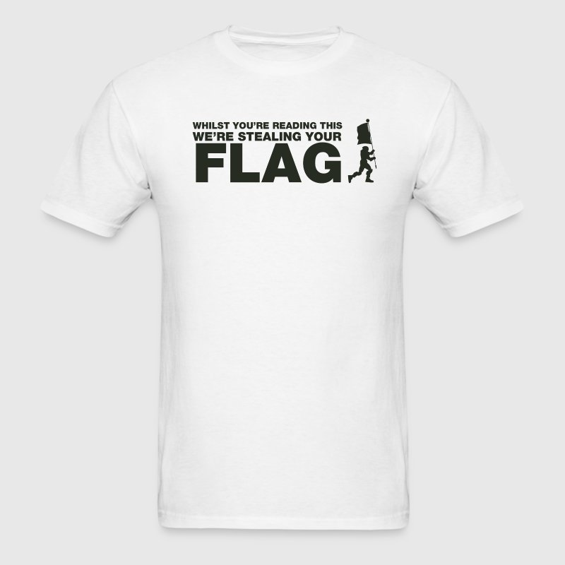 Capture The Flag T-Shirts - Men's T-Shirt