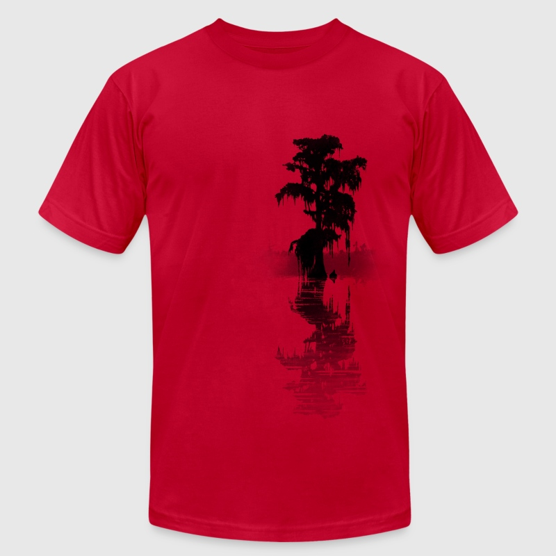 bayou tree - Men's Fine Jersey T-Shirt