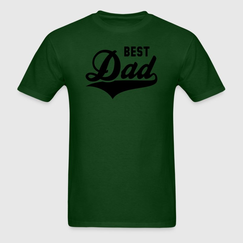 BEST Dad Tail-Design T-Shirt YG - Men's T-Shirt