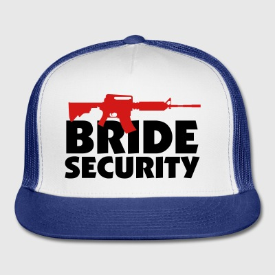 Bride Security 3 (2c)++ Bags  - Trucker Cap