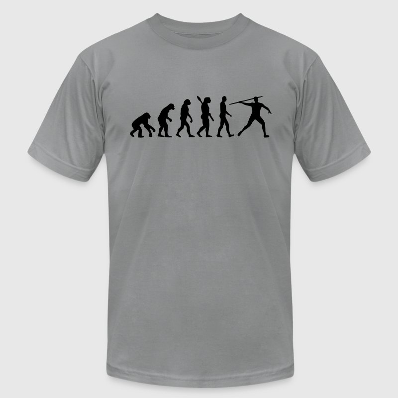 Javelin evolution T-Shirts - Men's T-Shirt by American Apparel