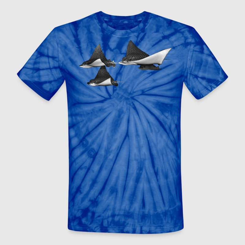 Spotted Eagle Rays T-Shirts - Unisex Tie Dye T-Shirt