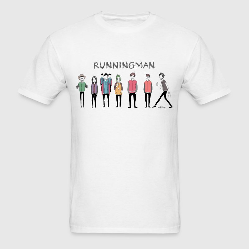 Running Man Cast (Episode 74 Super Natural) T-Shir - Men's T-Shirt