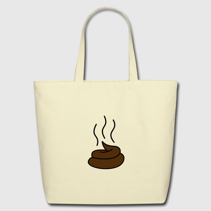Steaming Turd Bags  - Eco-Friendly Cotton Tote