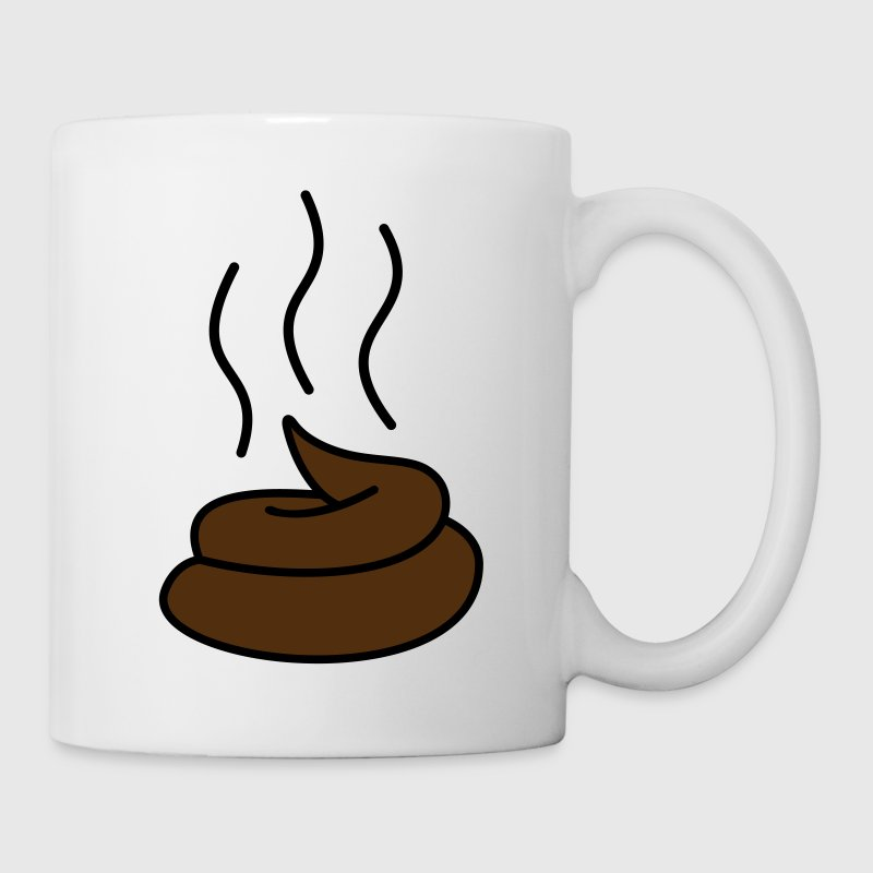 Steaming Turd Gift - Coffee/Tea Mug