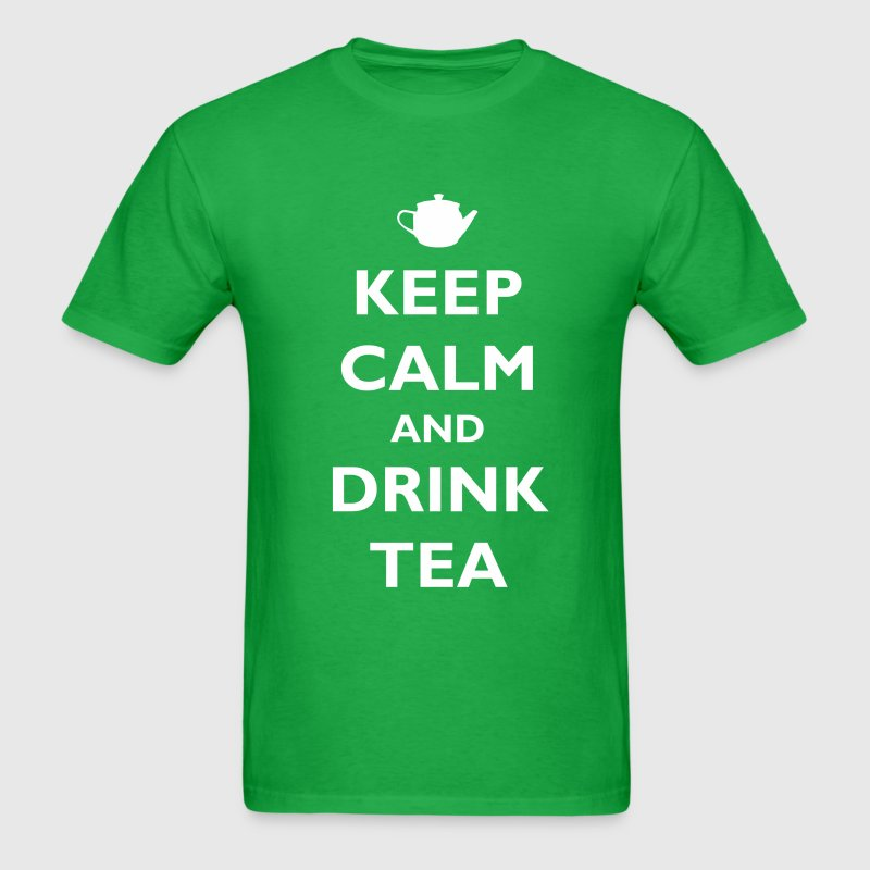 Keep Calm and Drink Tea T-Shirts - Men's T-Shirt