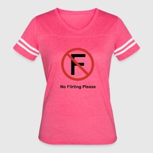 No Flirting Please, Funny T Shirt Design T-Shirt | Spreadshirt