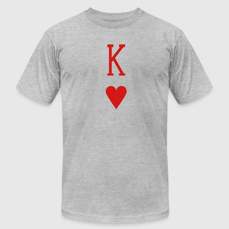 King of Hearts T-Shirts - Men's Fine Jersey T-Shirt