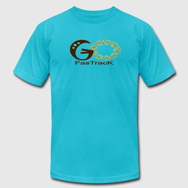 Go Fastrack T-Shirts - Men's T-Shirt by American Apparel