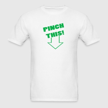 White pinch this Men - Men's T-Shirt