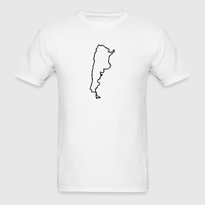 White Argentina Men - Men's T-Shirt