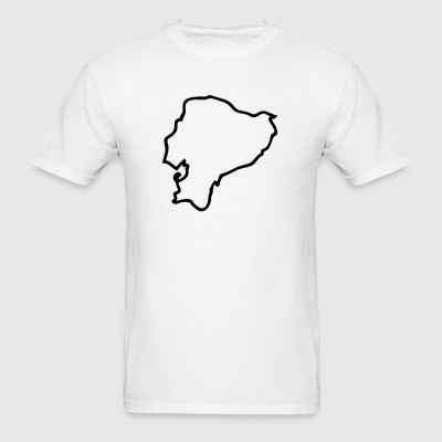 White Ecuador Men - Men's T-Shirt