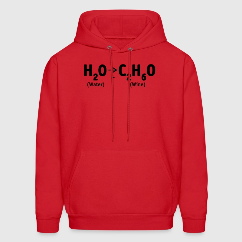 Red Water into Wine Sweatshirt - Men's Hoodie
