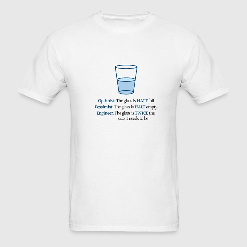 White Water Glass Men - Men's T-Shirt