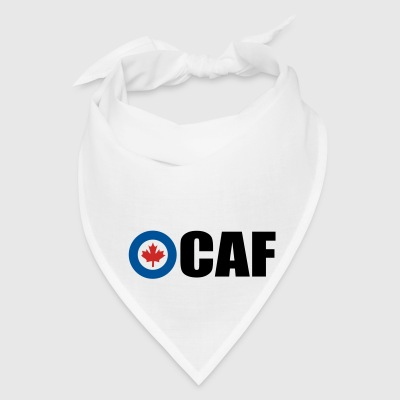 White Canadian Air Force Accessories - Bandana