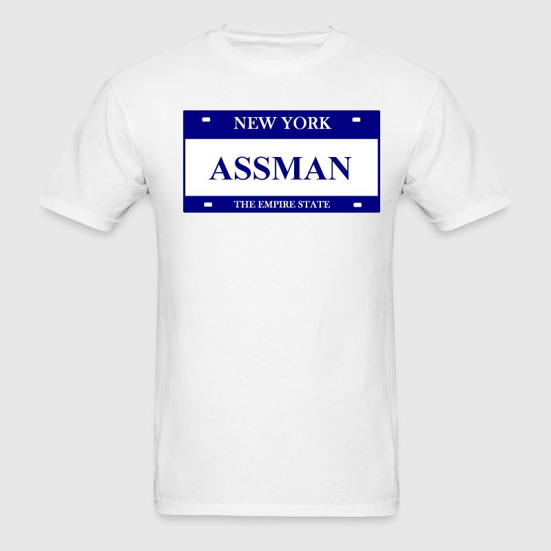White ASSMAN Men - Men's T-Shirt