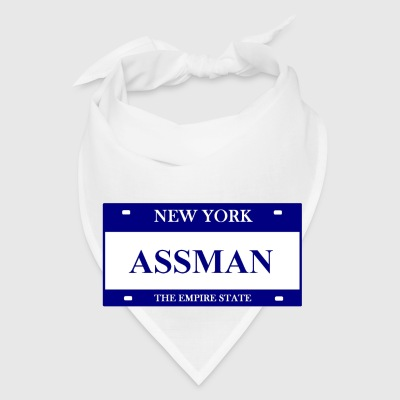 White ASSMAN Accessories - Bandana