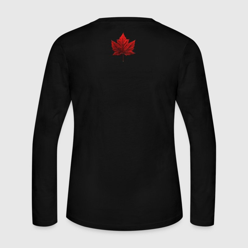 Women's Canada Souvenir  Long Sleeve Canada Shirt - Women's Long Sleeve Jersey T-Shirt