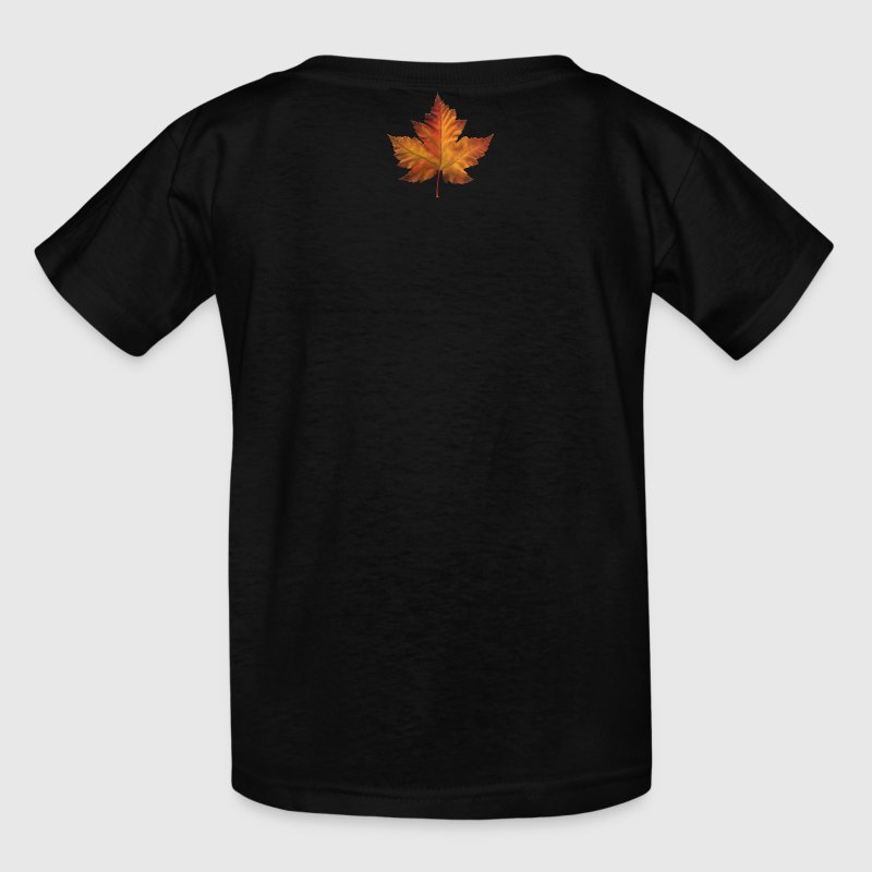 Canada Souvenir Kid's T-shirt Maple Leaf Canada Kids Shirts - Kids' T-Shirt