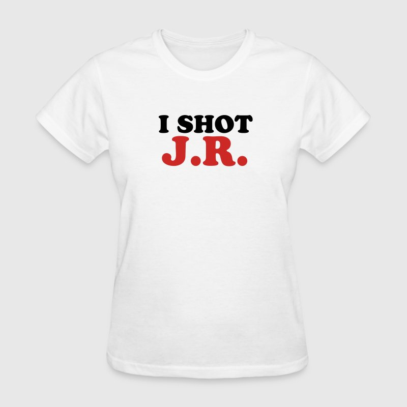White I Shot JR Women - Women's T-Shirt
