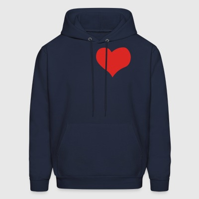 Heart of gold - Men's Hoodie
